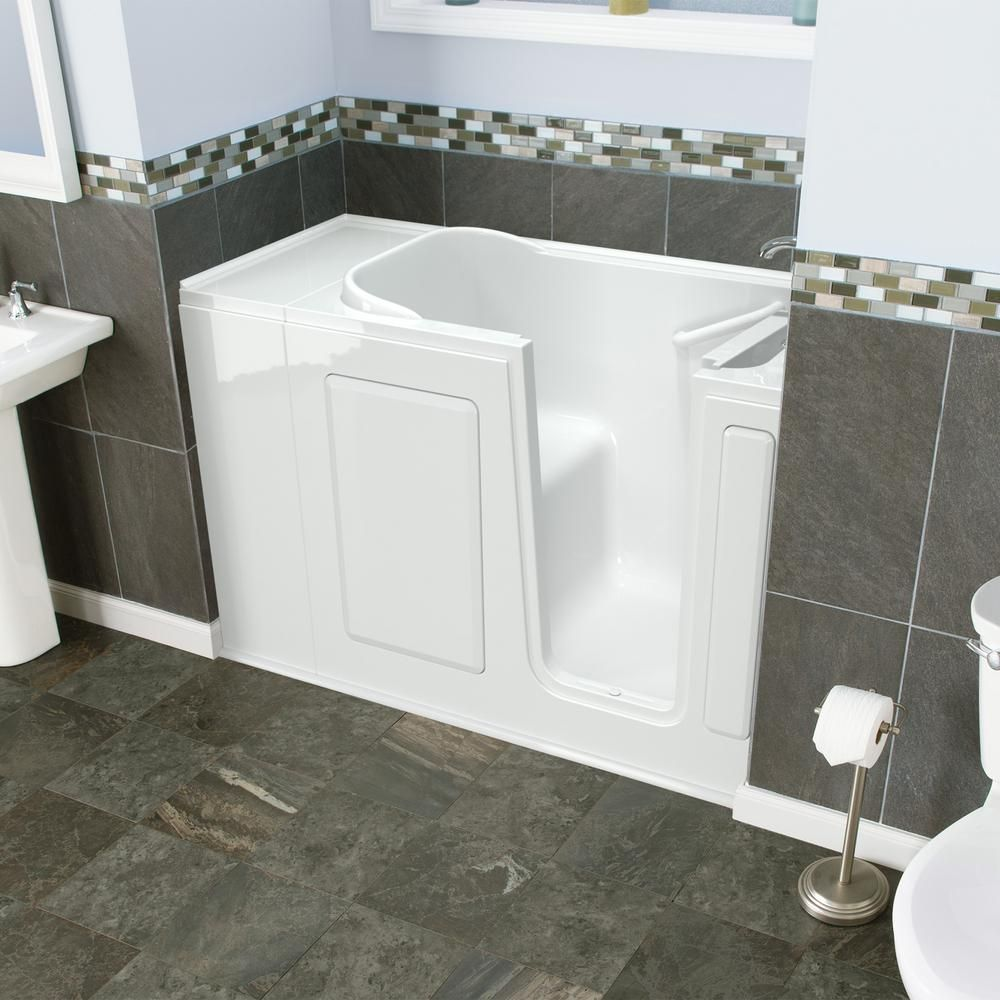 Safety Tubs Value Series 48 In Right Hand Walk In Bathtub In