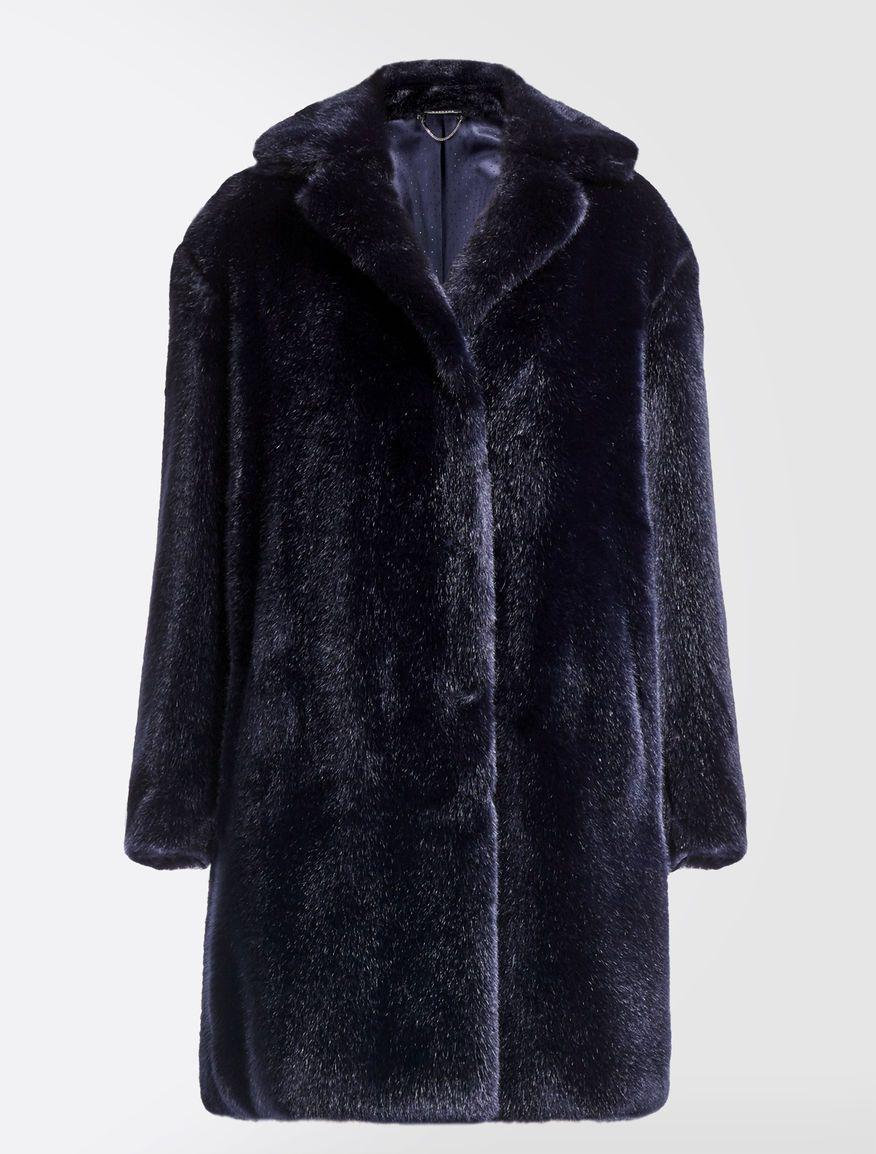 Fur-effect coat Weekend Maxmara   Каракуль   Fur, Faux fur und Coat 8b8d44f3f6