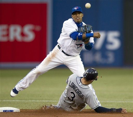 Game 13 Rays 9 Blue Jays 4 7 6 Jennings Is 3 5 And Longoria Goes 4 4 With A 441 Foot Home Run To Dead Center Blue Jays Tampa Bay Rays Toronto Blue Jays