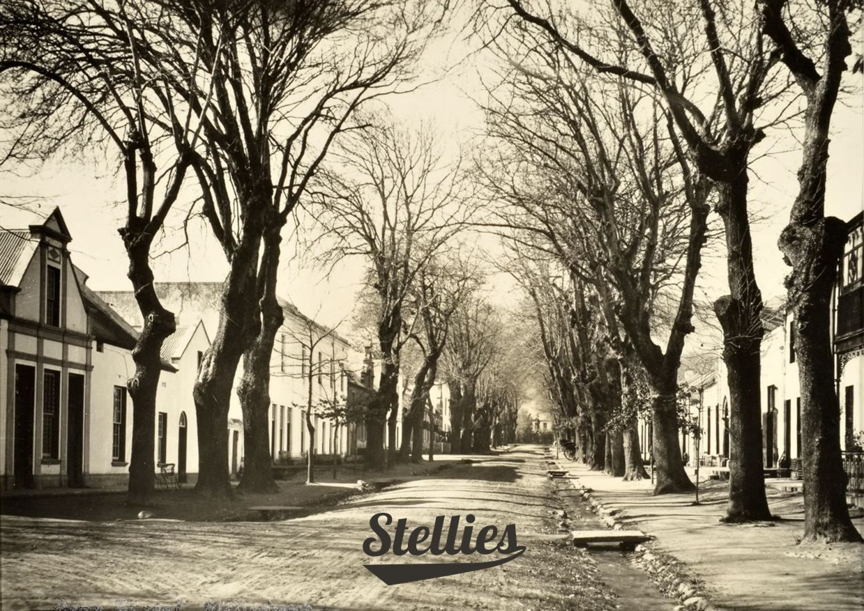 The stories this street could tell... #dorpstreet #stellenbosch