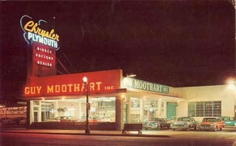Guy Moothart Chrysler Plymouth Compton Ca Vintage Shots From