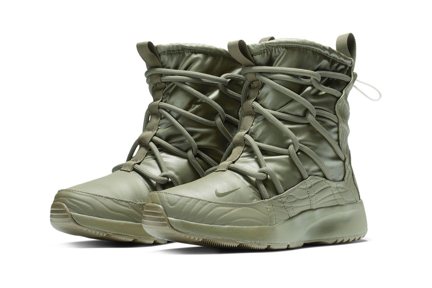 947f69c0 Nike Tanjun High Rise Boot New Colorways Fall 2018 olive maroon black white  release date info price sneakers winter