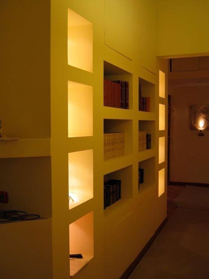 Librerie in cartongesso (Foto) | Design Mag