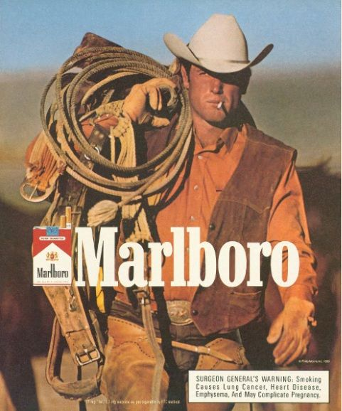 images from the malboro cigarette ads | though the years and is the most popular cigarette brand