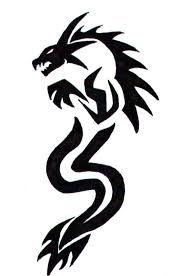 Resultado De Imagem Para Simple Tribal Tattoo Designs For Hand Dragon Images Dragon Tattoo Simple Dragon Tattoo Drawing