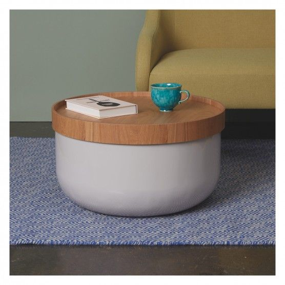 BERT Mushroom storage coffee table Storage Coffee and Clutter