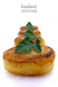 Fondant Potatoes (Side Dish Recipe) | Simple. Tasty. Good.