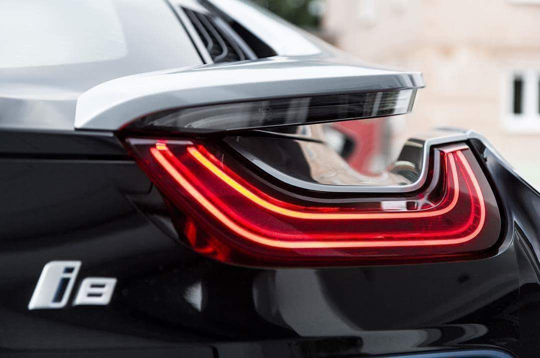 Bmw I8 Tail Light Awesome Hybrid Supercar Love These Electric