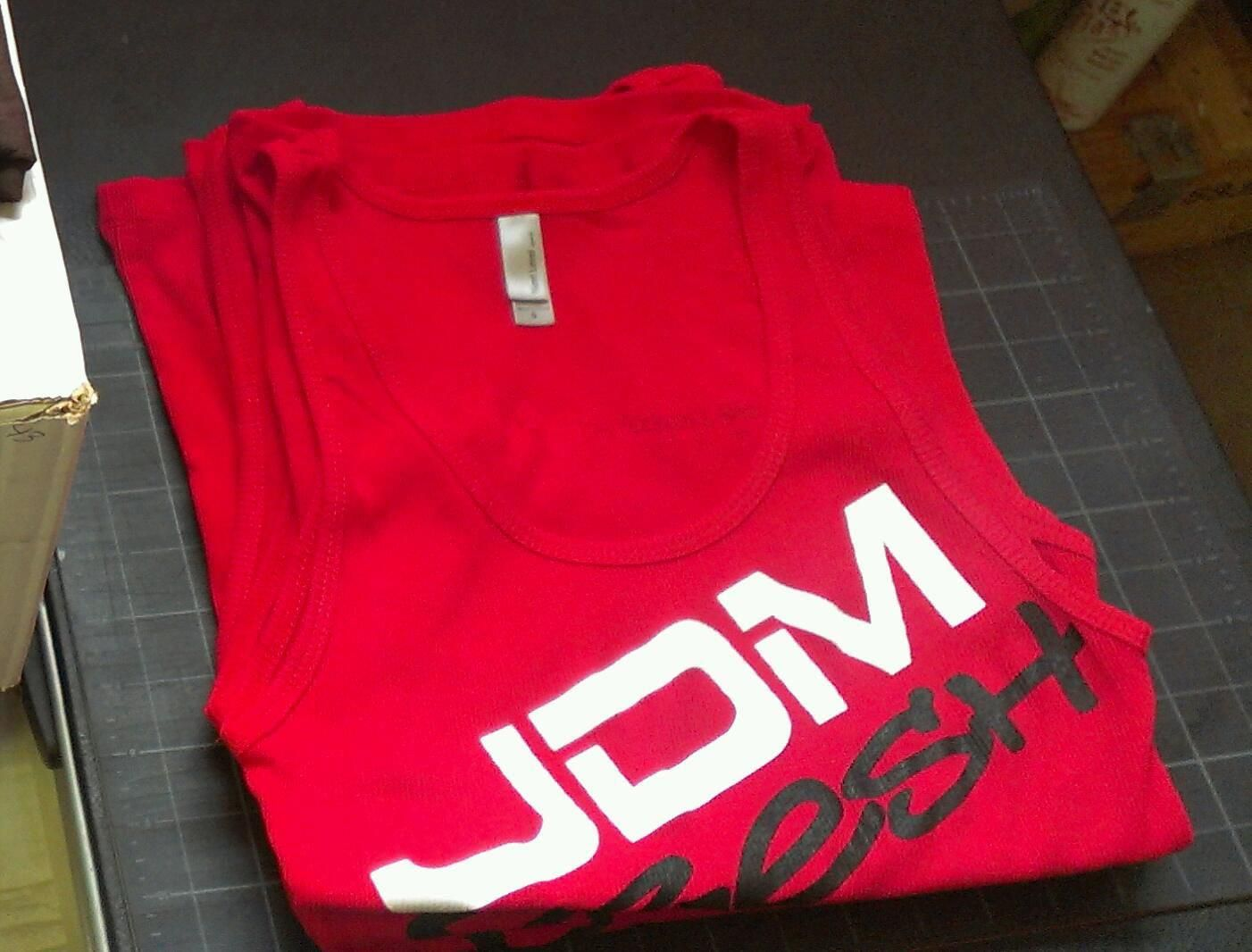 also available in Red! Tank tops are made by next level