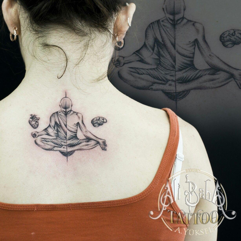 Bodrum Dovme Bodrum Tattoo Budist Tattoo Monk Tattoo Yoga