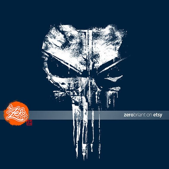 Unisex/Mens: Punisher Tee / You are One Bad Day by zerobriant