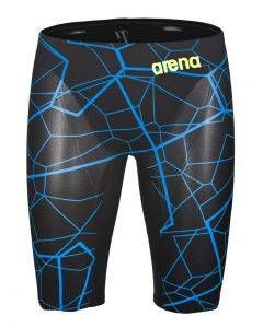 776b4d5291 Arena Mens Limited Edition Carbon Air Jammers - Black/Bright Blue ...