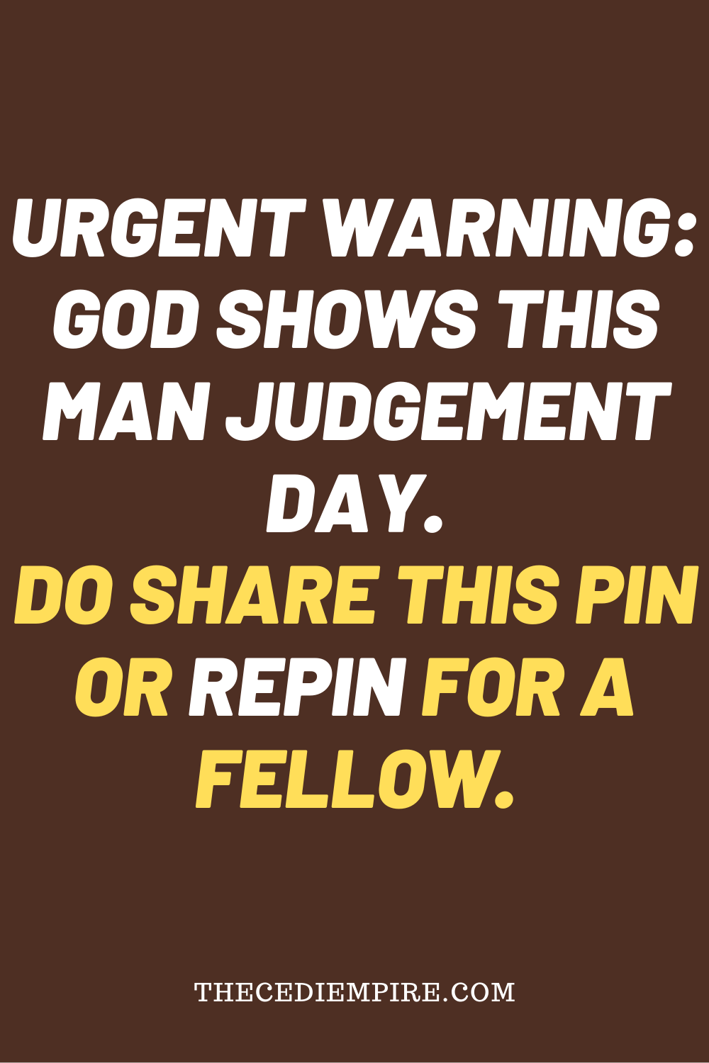 God Shows This Man Judgement Day. #Judgement #God #Jesus #catholicfaith #September2020 #Prayerinspiration #Powerful