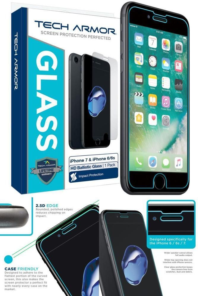 2x Invisible Shield Tempered Glass 7ballistic Screen Protector For