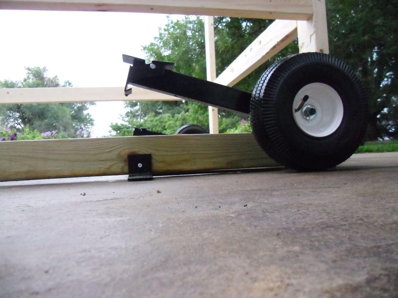 Egg Cart'n Wheel Kit 295 The kit includes four wheels