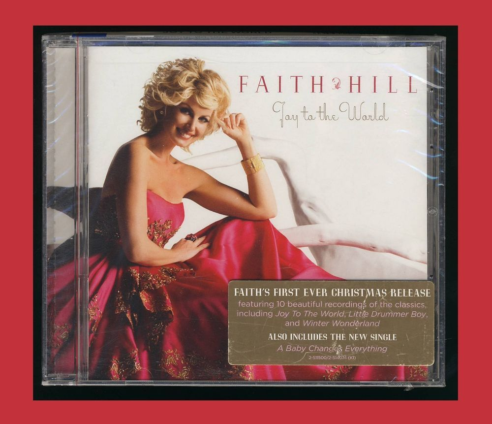 Details About Joy To The World By Faith Hill CD Sep 2008 Warner
