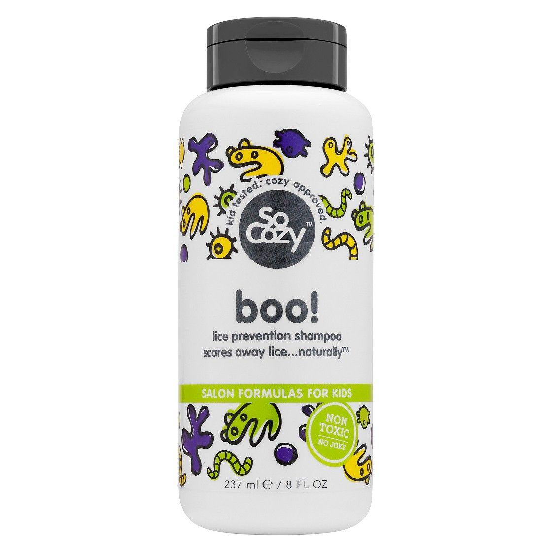 Socozy boo lice shampoo oz lice prevention and lice shampoo