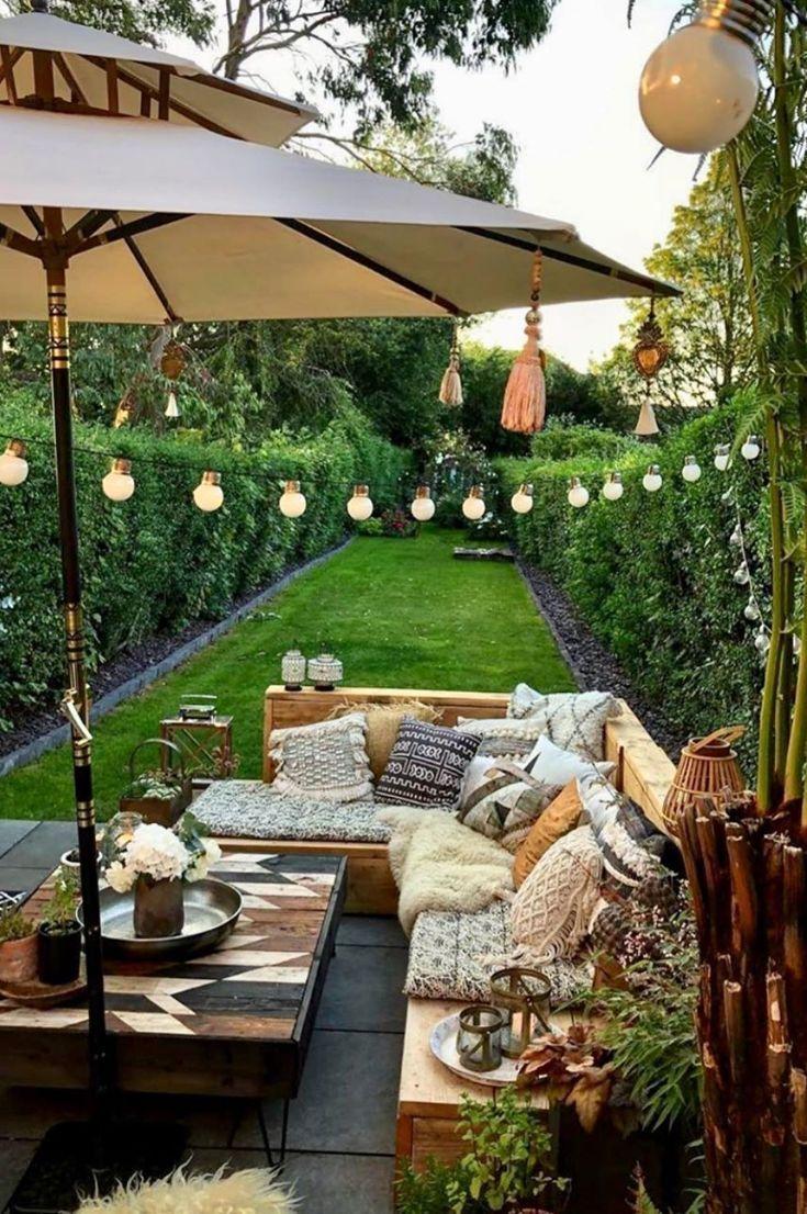 Cómo Decorar La Veranda De Una Manera Hermosa Y Práctica Improveyourdrawing Com Beautiful Backyards Backyard Backyard Inspo