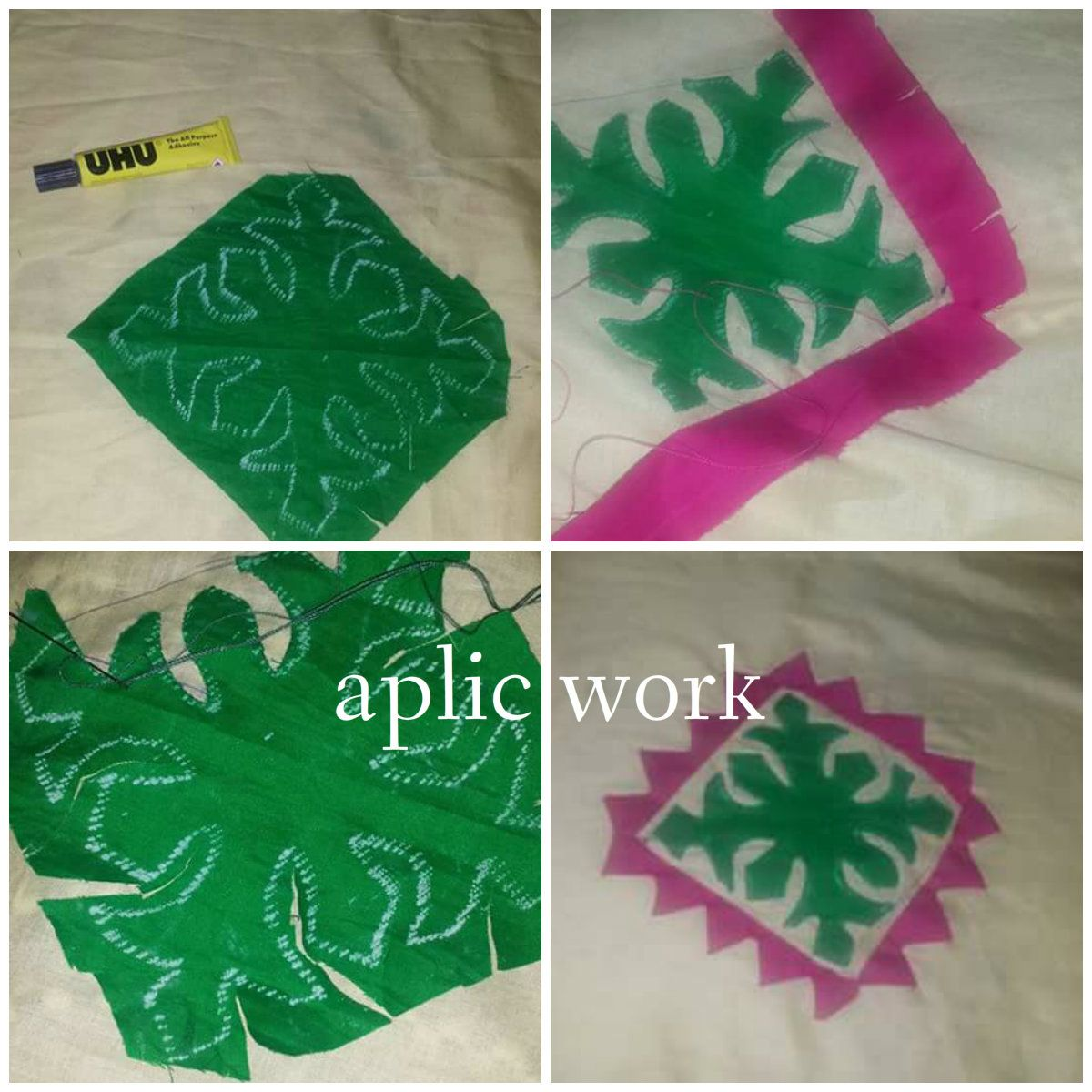 Ribbon Work Bed Sheets Designs - Aplic work