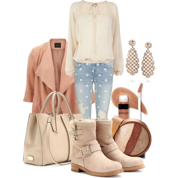 """Color of the season - Nude tones"" by martina-hel on Polyvore"