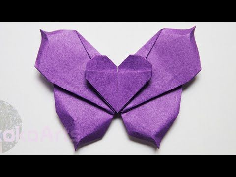 How To Make an Easy Origami Butterfly|DIY Cute & Easy Butterfly ... | 360x480