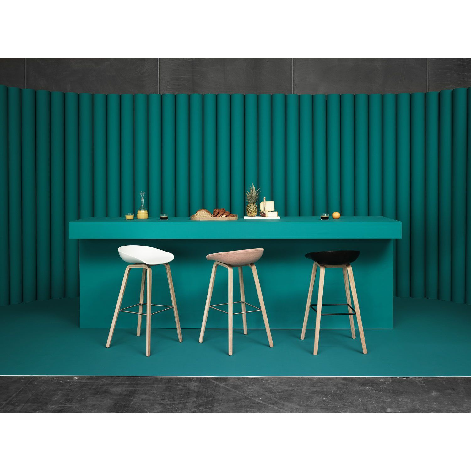 About a Stool h75 barstol, vit/ekben | Stools, Inredning and Room
