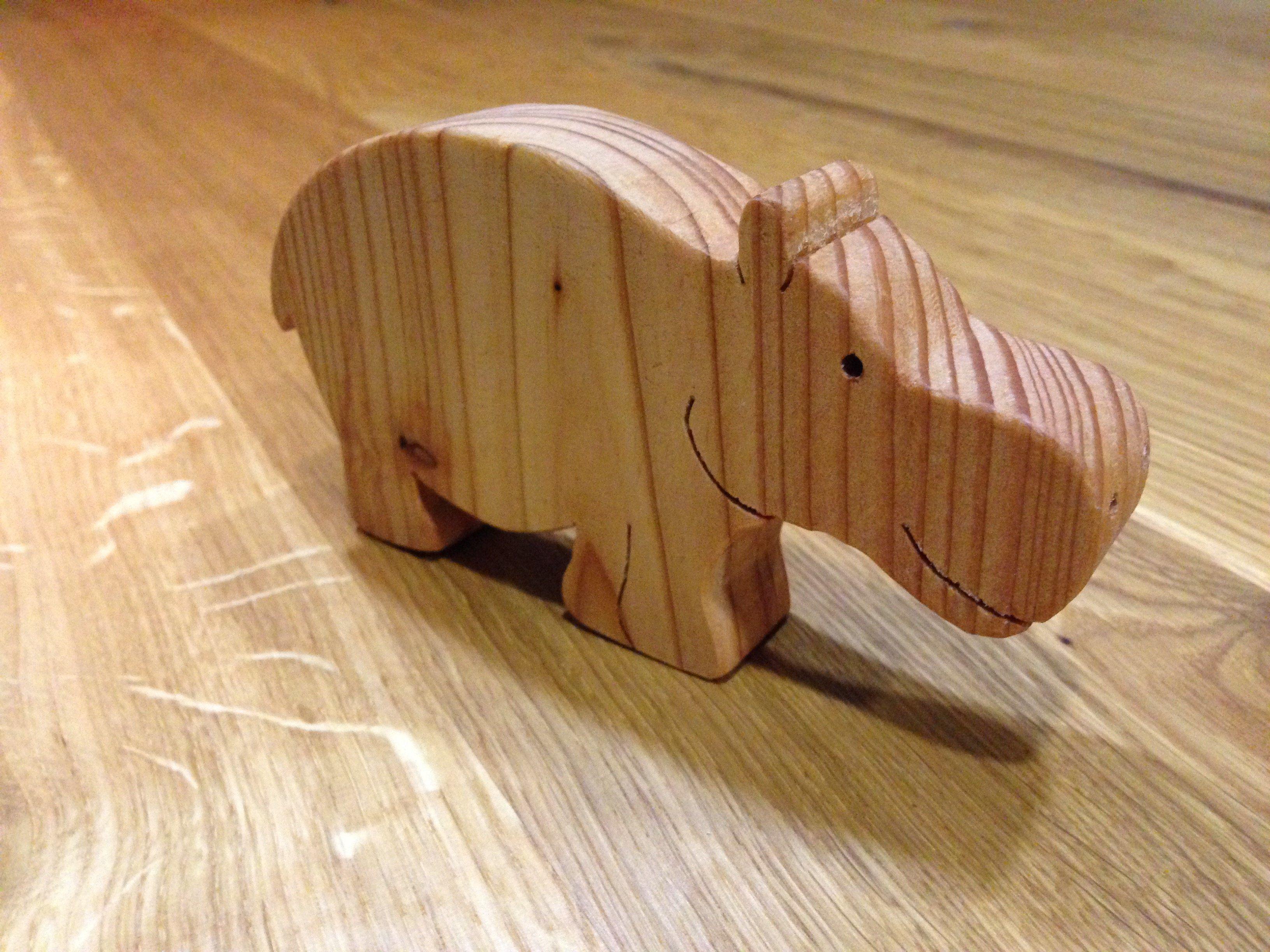 Tolle Holztiere aus Reststücken sägen HANDMADE Kultur