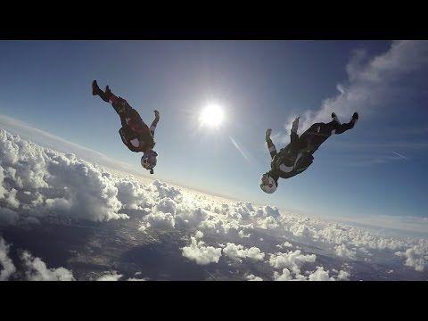 Skydiving In Slow Motion With Jokke Sommer Gopro Hero 4 Youtube Paragliding Skydiving Gopro