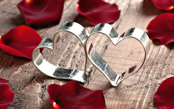 valentinstagsgeschenke für sie backrezepte rosenblätter #