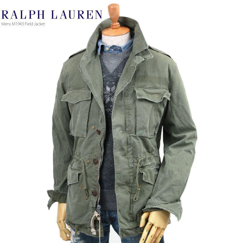 Ralph Lauren Men s M-65 Military Jacket   Rugged Jackets   Pinterest ... ebc29fab97