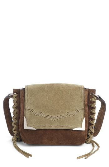 8f35a622e4 Isabel Marant Kleny Colorblock Suede Shoulder Bag in 2019