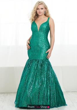 tiffany long mermaid dress 16447 in 2020  dresses plus