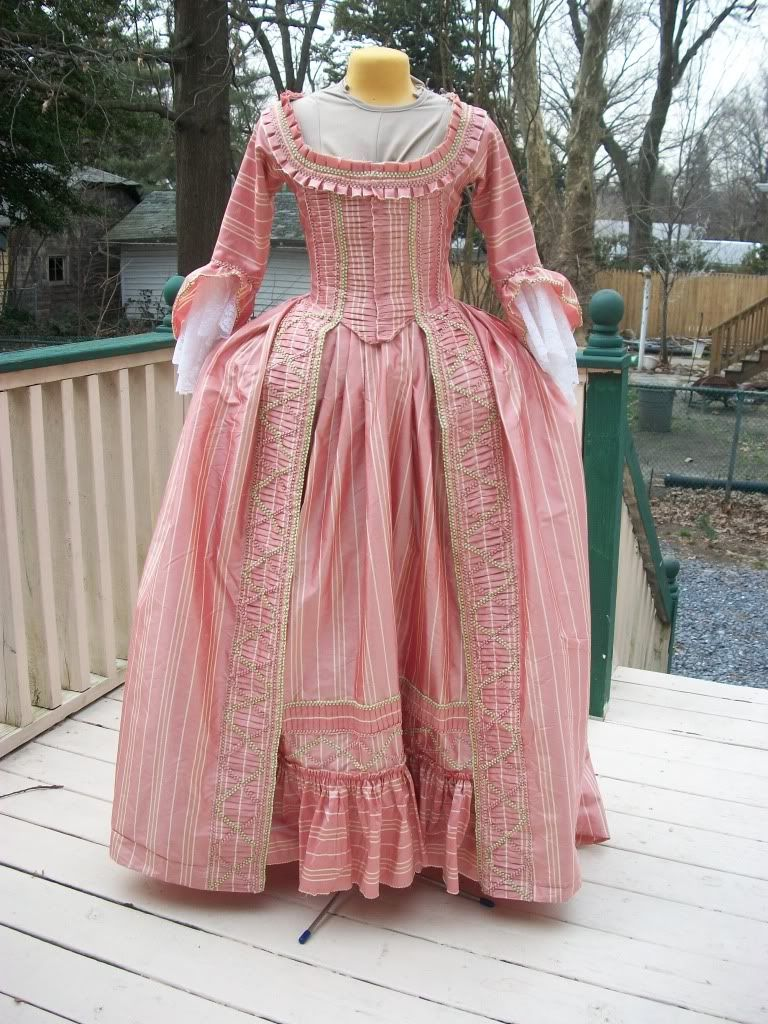 A Dedicated Follower of Fashion: 1770s Pink Sack Gown | Costumes ...