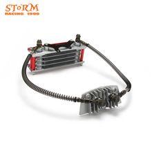 Motorcycle Engine Oil Cooler Radiator For Loncin Zongshen Lifan