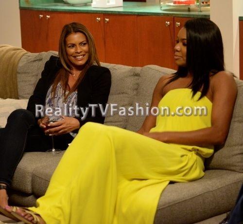 Reality tv fashion maxi dress
