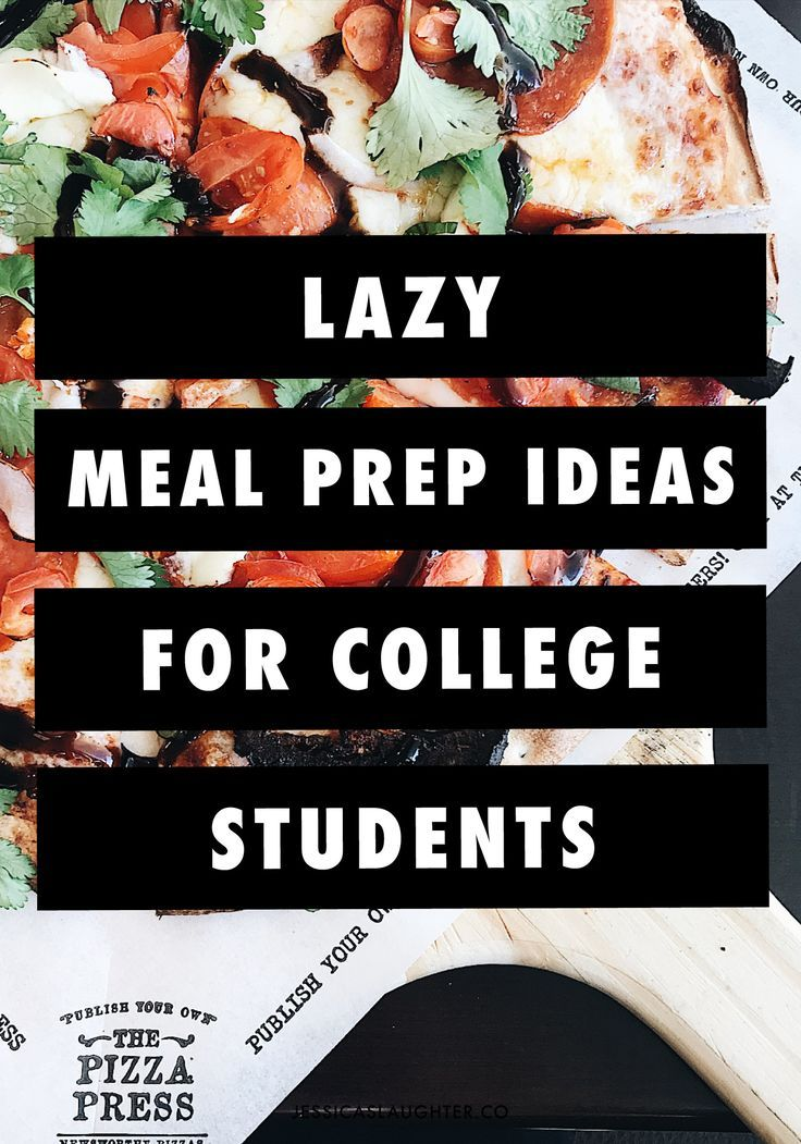 Lazy Meal Prep Ideas for College Students images