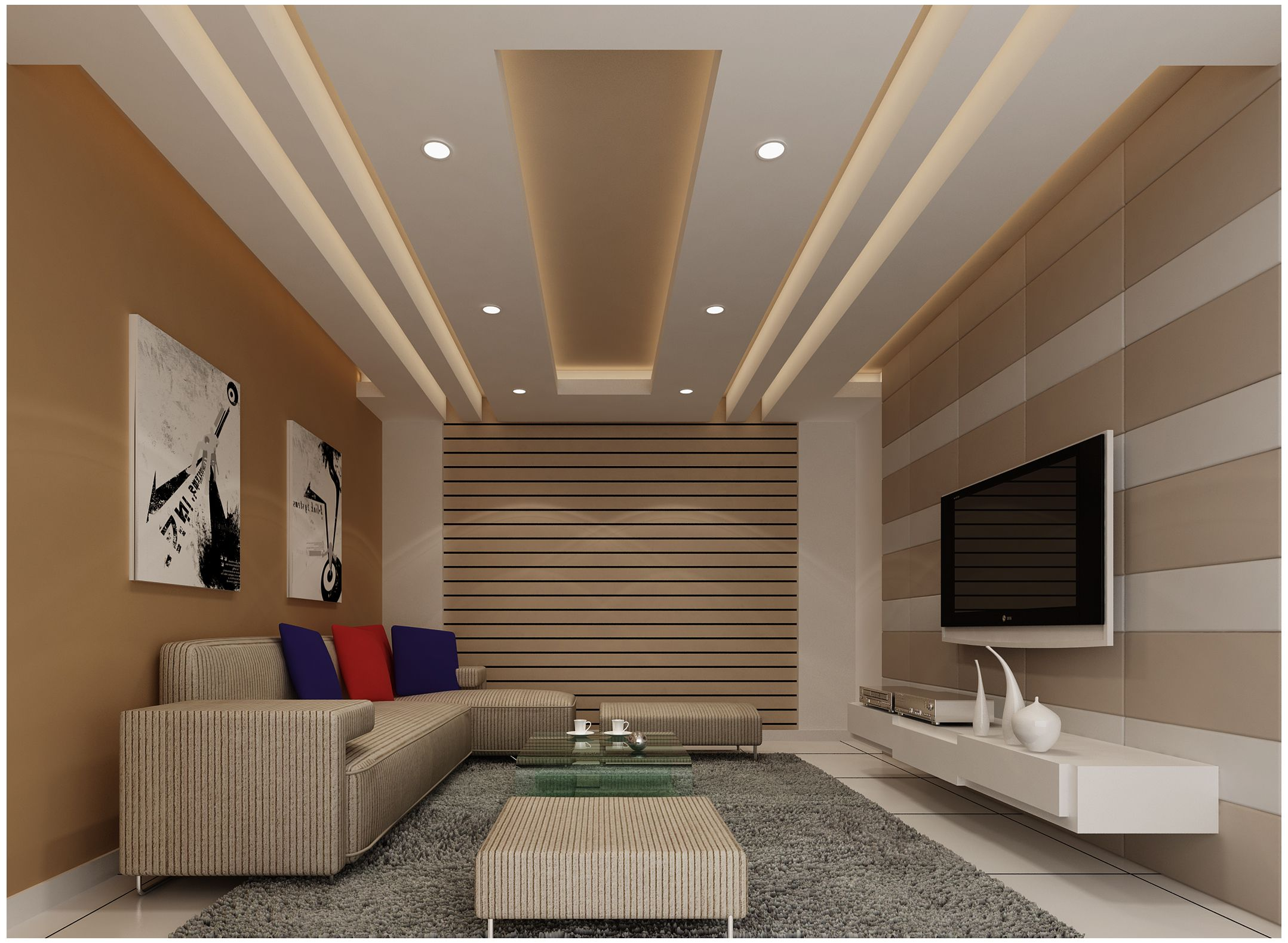 Choose The Array Of Classy, Cheerful, Adventurous And Artistic Ceiling  Designs To Add Finesse To Your Living Room And Create An Enviable First  Impression Part 66
