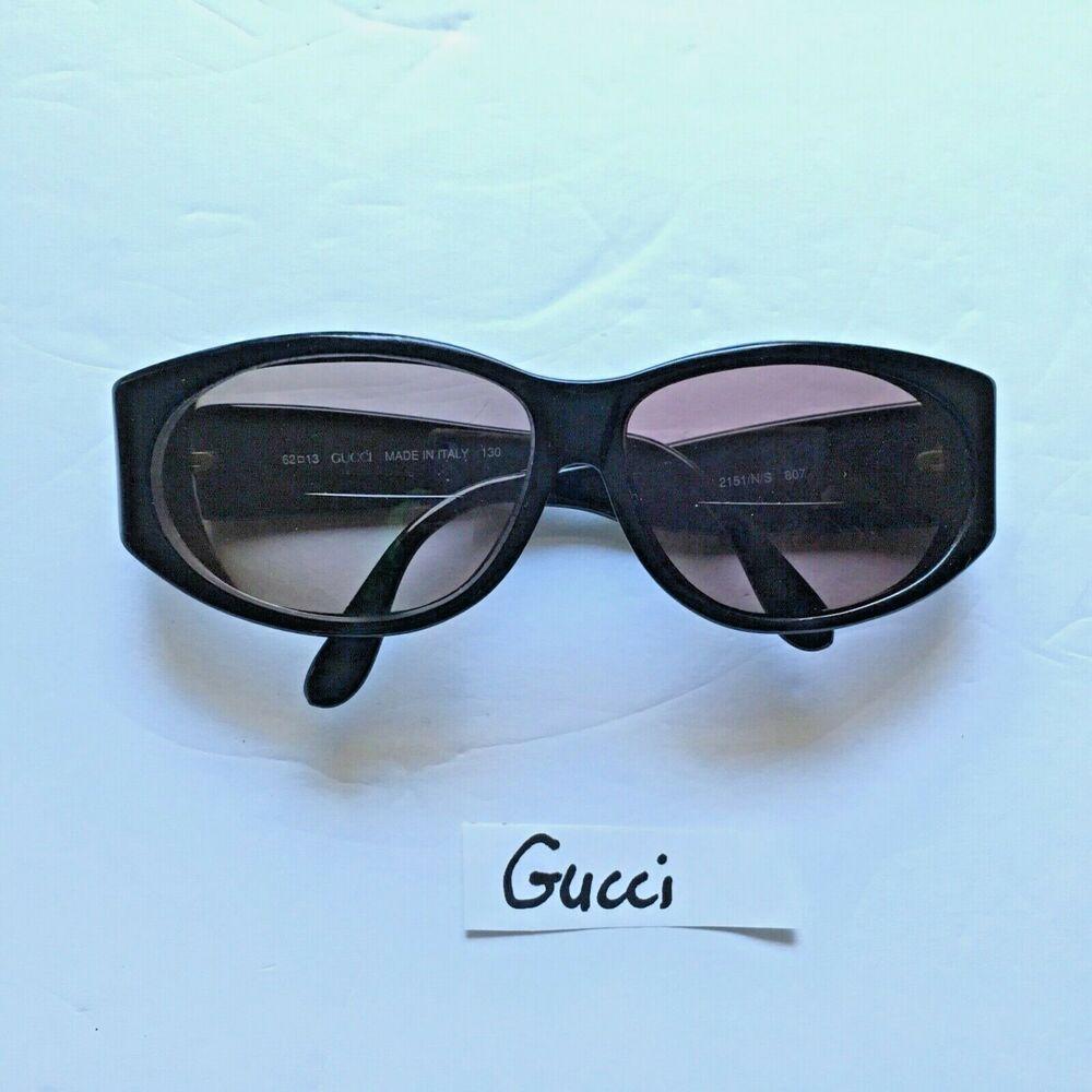 feffa937d556 Gucci Sunglasses Italy Eyeglass Frame GG2151 N/S 807 Designer Glasses Black  #Gucci #