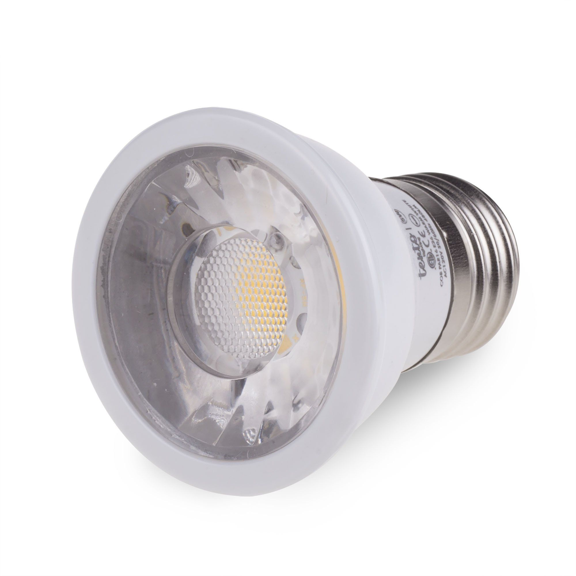 Dimmable Led Par16 Light Bulbs Daylight White Color 5000k 10 Pieces Pack Ac 110v 120v E26 Pot Light Bulbs Recessed Recessed Light Bulbs Light Bulbs Pot Lights
