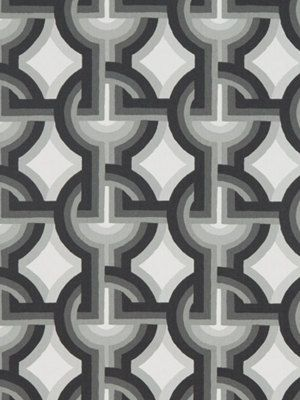 New Modern Interlock Circle Upholstery Drapery Fabric By The Yard