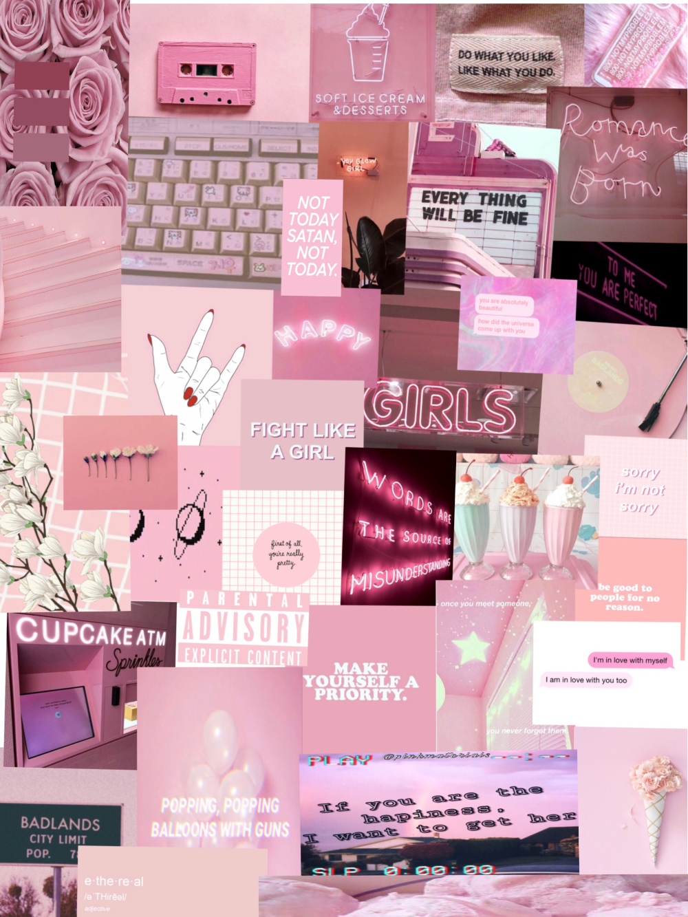 aesthetic wallpaper Google Search in 2020 Pink