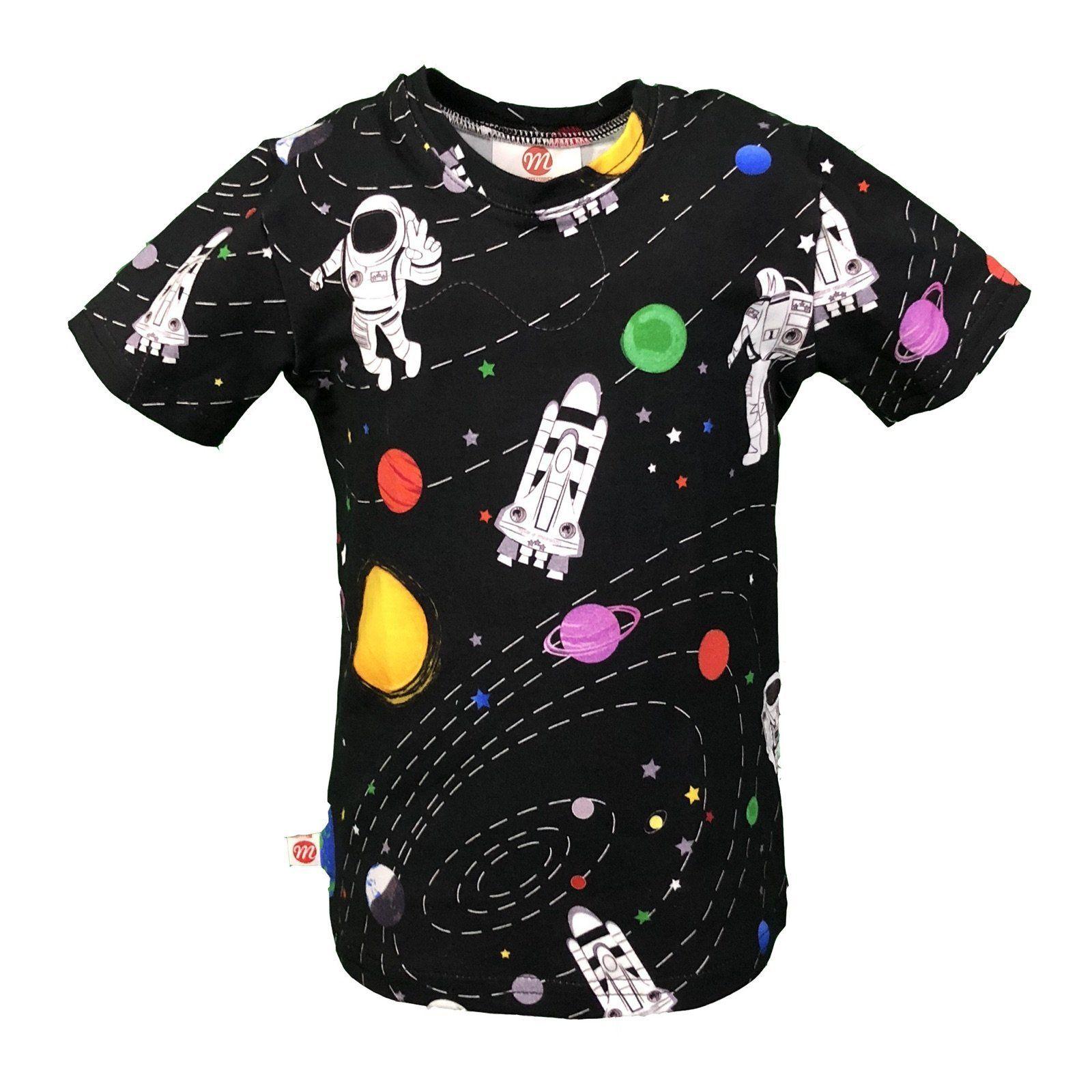 Astronaut Childrens Long Sleeve T-Shirt Boys Cotton Tee Tops