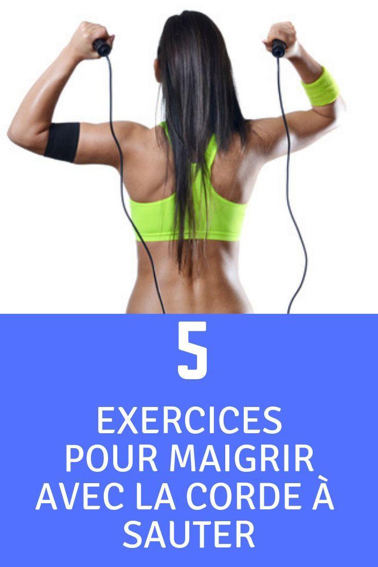 Voici 5 exercices de corde à sauter pour maigrir et tonifier votre corps rapidement. Cliquez sur ...