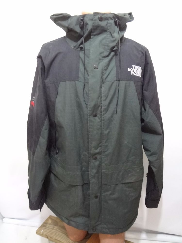 bcd6241744f8 The North Face Summit Series Gore-Tex XCR Green Hooded Jacket Coat Mens 2XL   TheNorthFace  BasicJacket