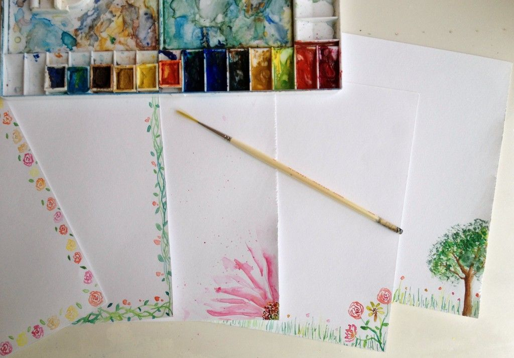 handmade stationaries by harmony thoughts