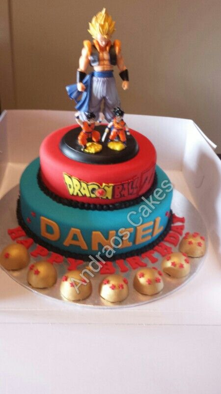Dragon Ballz Cake We Made Dragonball Z Cake Fiesta Cake