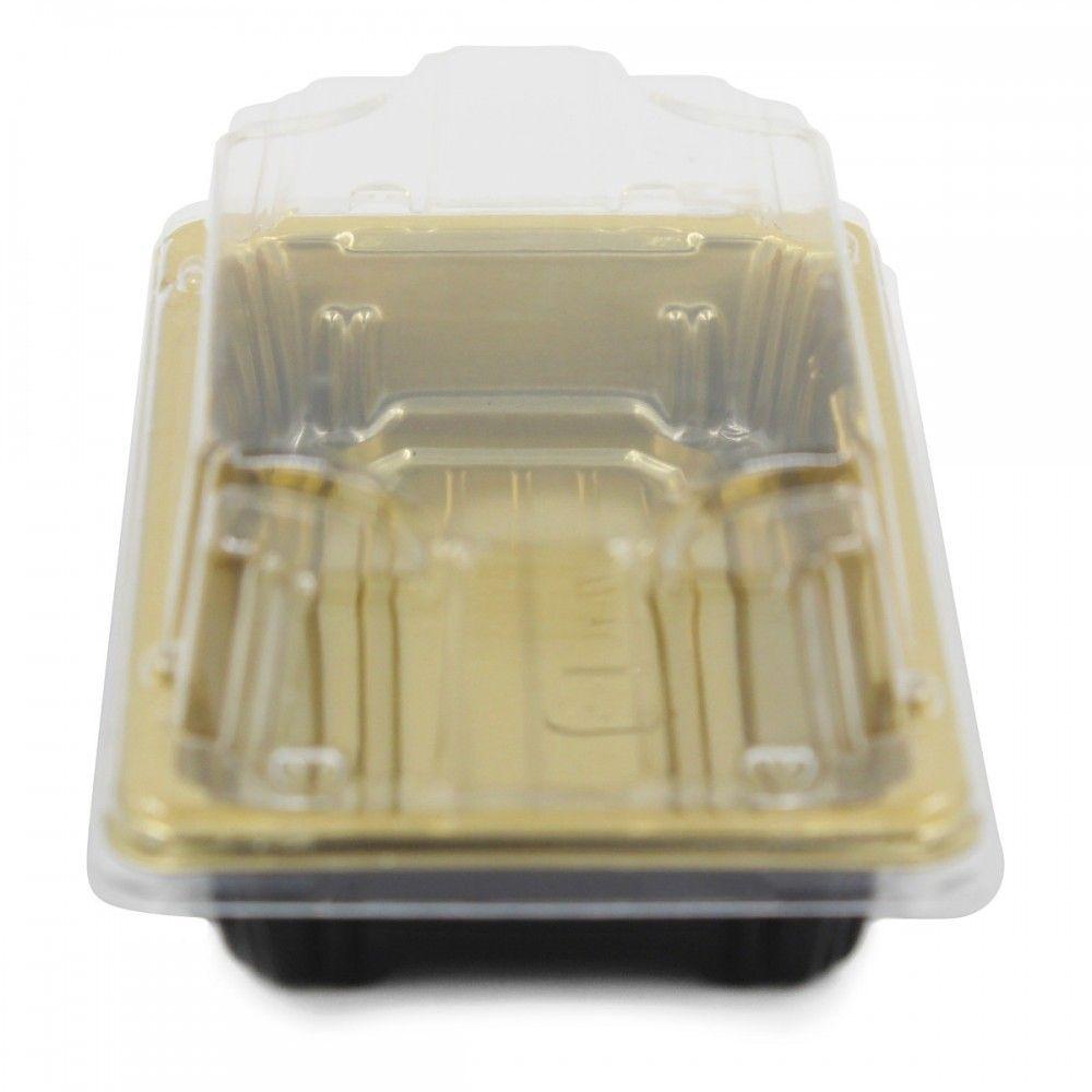 علب بلاستيك اللون ذهبي غطاء شفاف العدد 10 علبه الطول 14 سم العرض 8 سم الارتفاع 5 سم متوفرة لدى موقع صفقات موقع Food Takeout Container Container