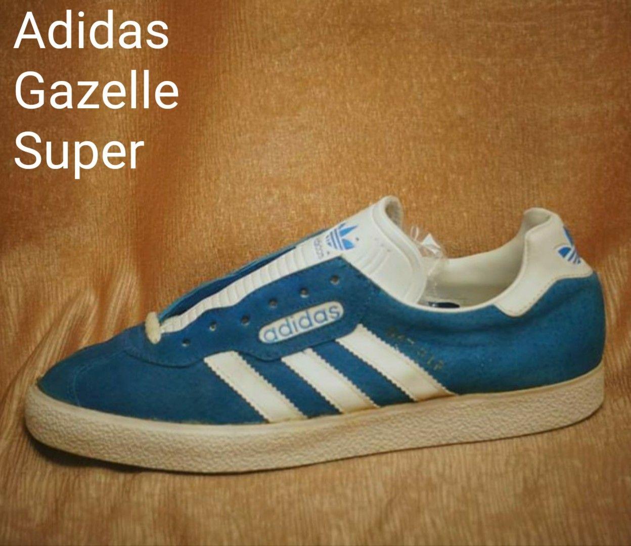 wykwintny design sklep z wyprzedażami szczegółowe obrazy Vintage Adidas Gazelle Super, made in Yugoslavia in 1987, a ...