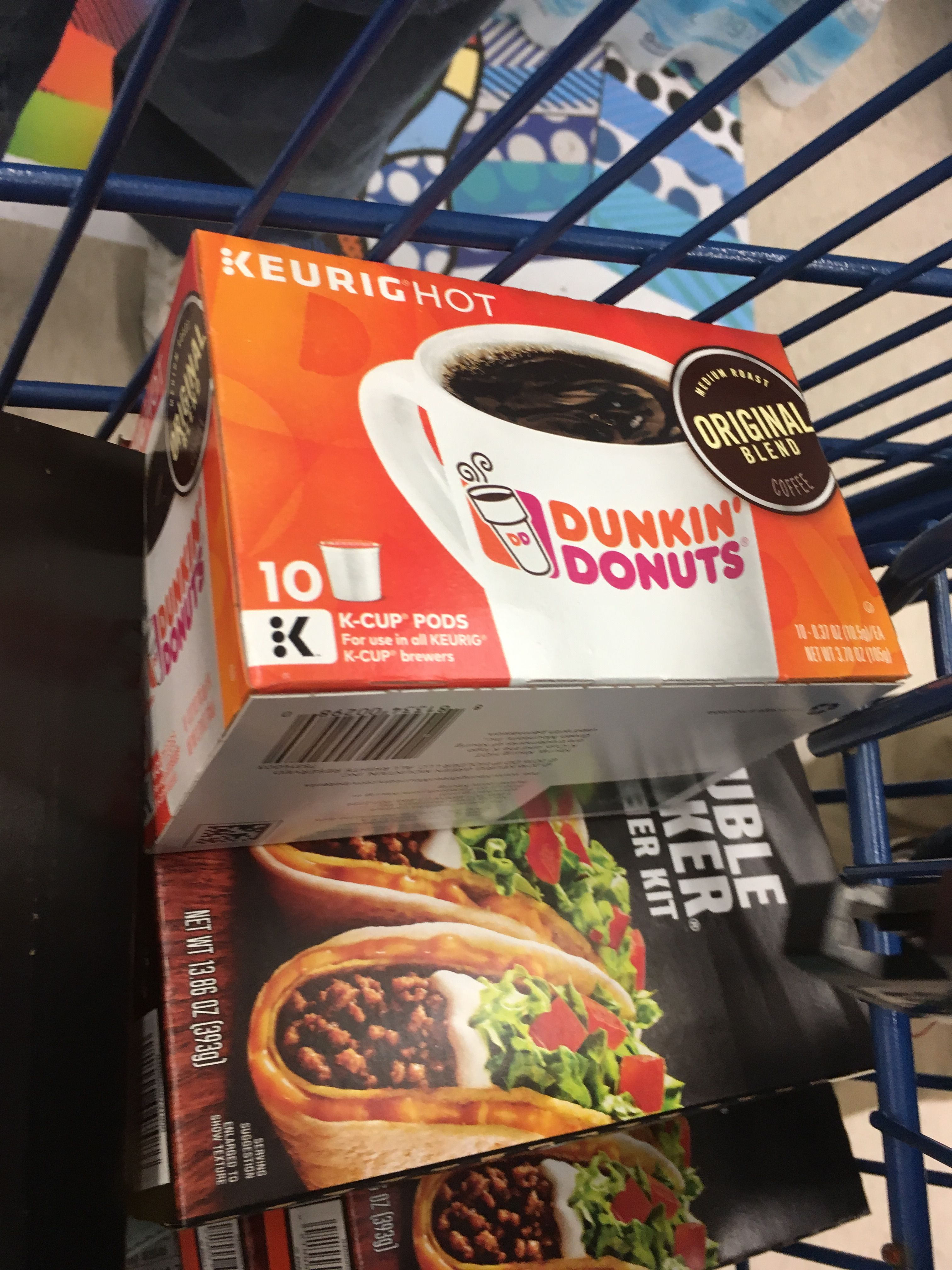 Smiley kit free sample of Dunkin' Donuts coffee Dunkin