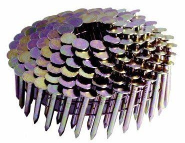 Hitachi 12102 1 1 2 X 0 120 Wire Coil Electro Galvanized Smooth Shank Roofing Nails 7200 Count With Images Roofing Nails Framing Nailers Galvanized Roofing